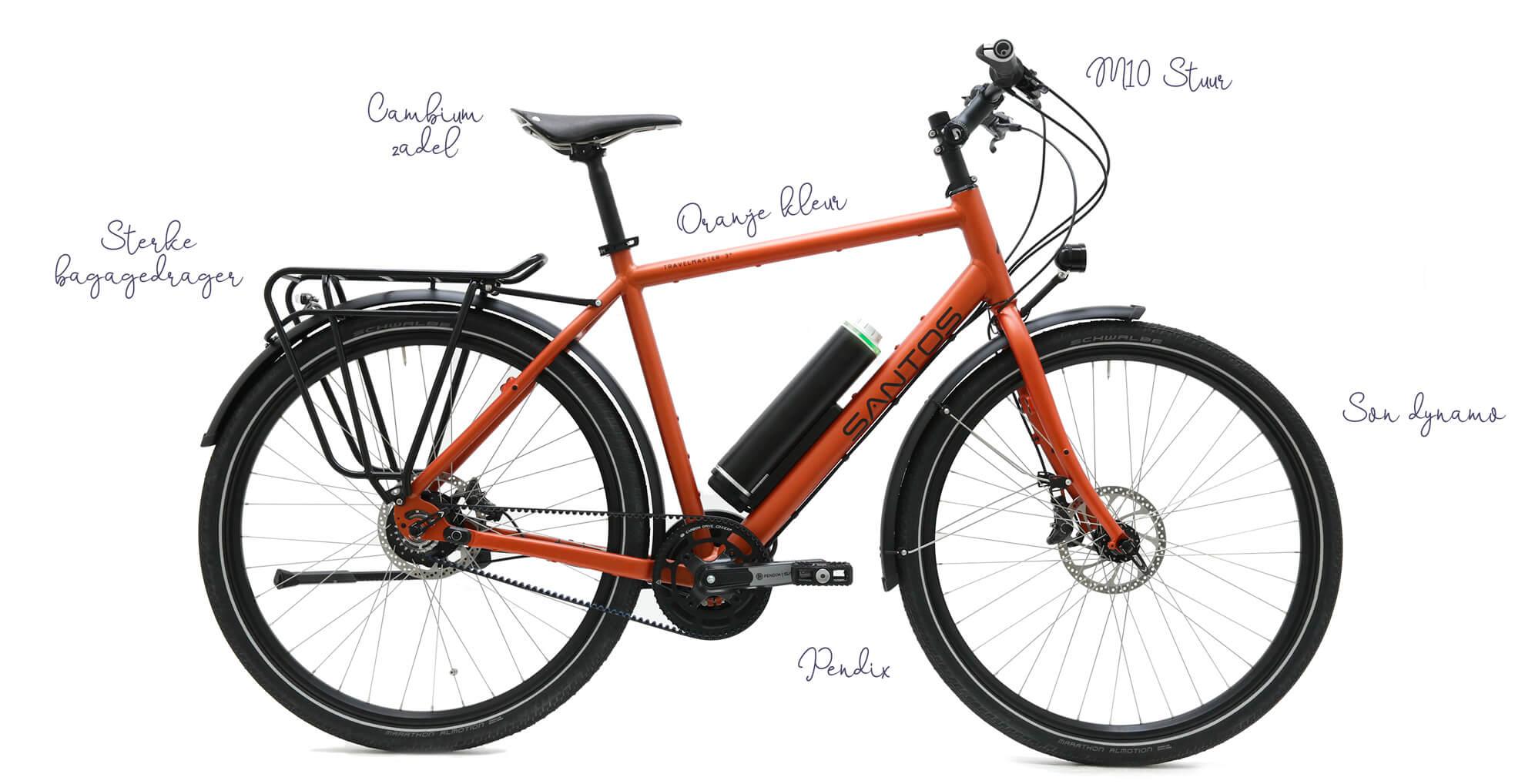 Santos Custom build fiets fietsen Jurgen