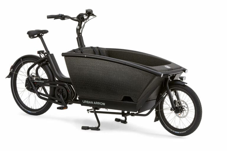 Urban Arrow fietsen Jurgen Family Performance Line Black