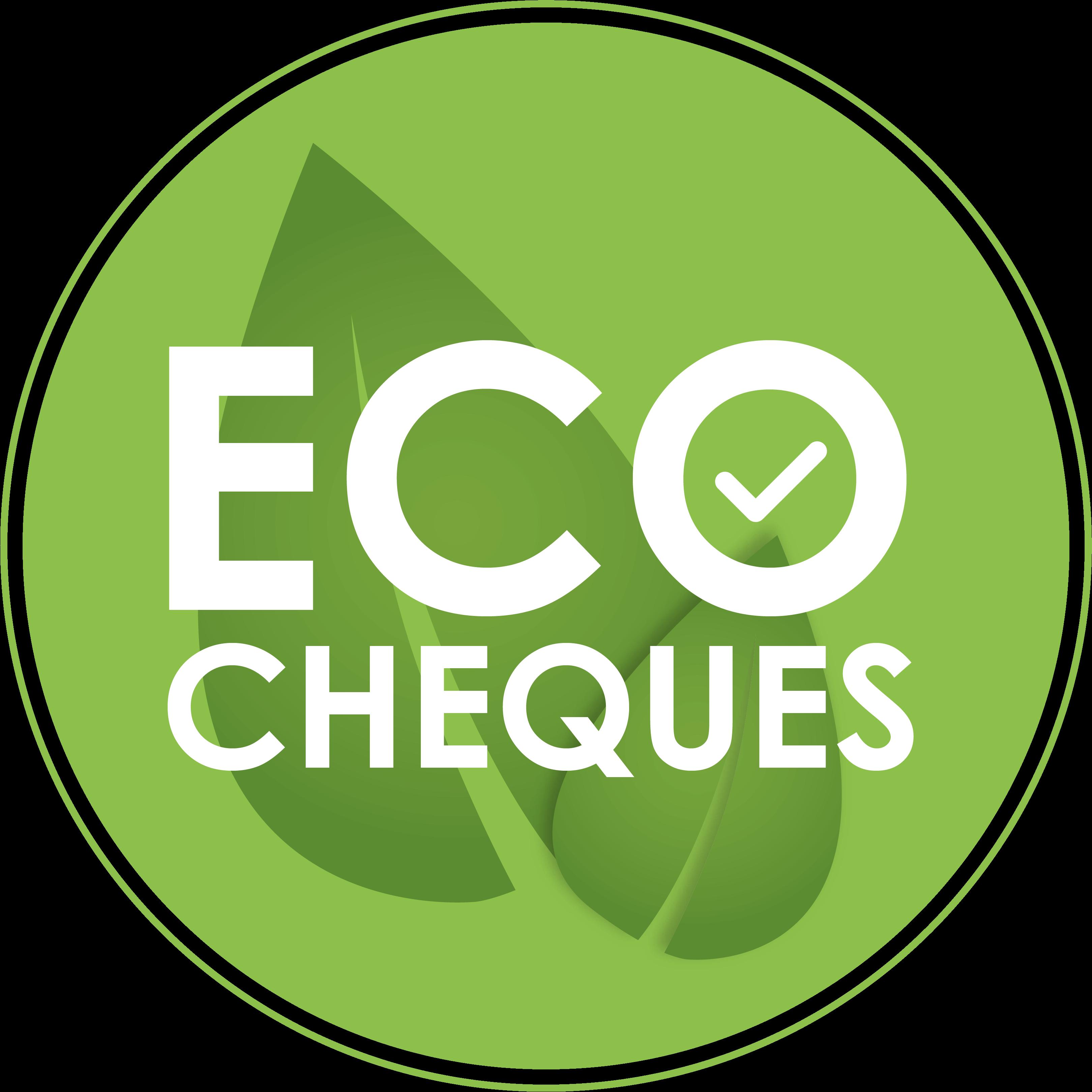 Eco cheque logo